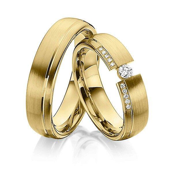 Niet mooi: span en rechte platte ring