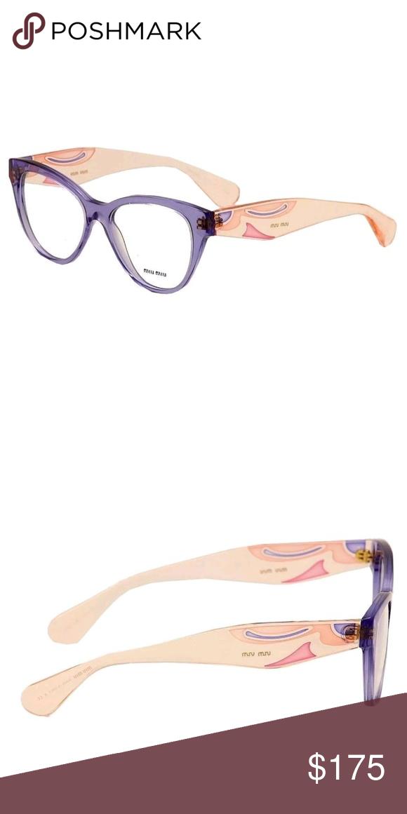 1acf09c5f8c0 Miu miu eyeglasses New 53mm Miu Miu Accessories Glasses