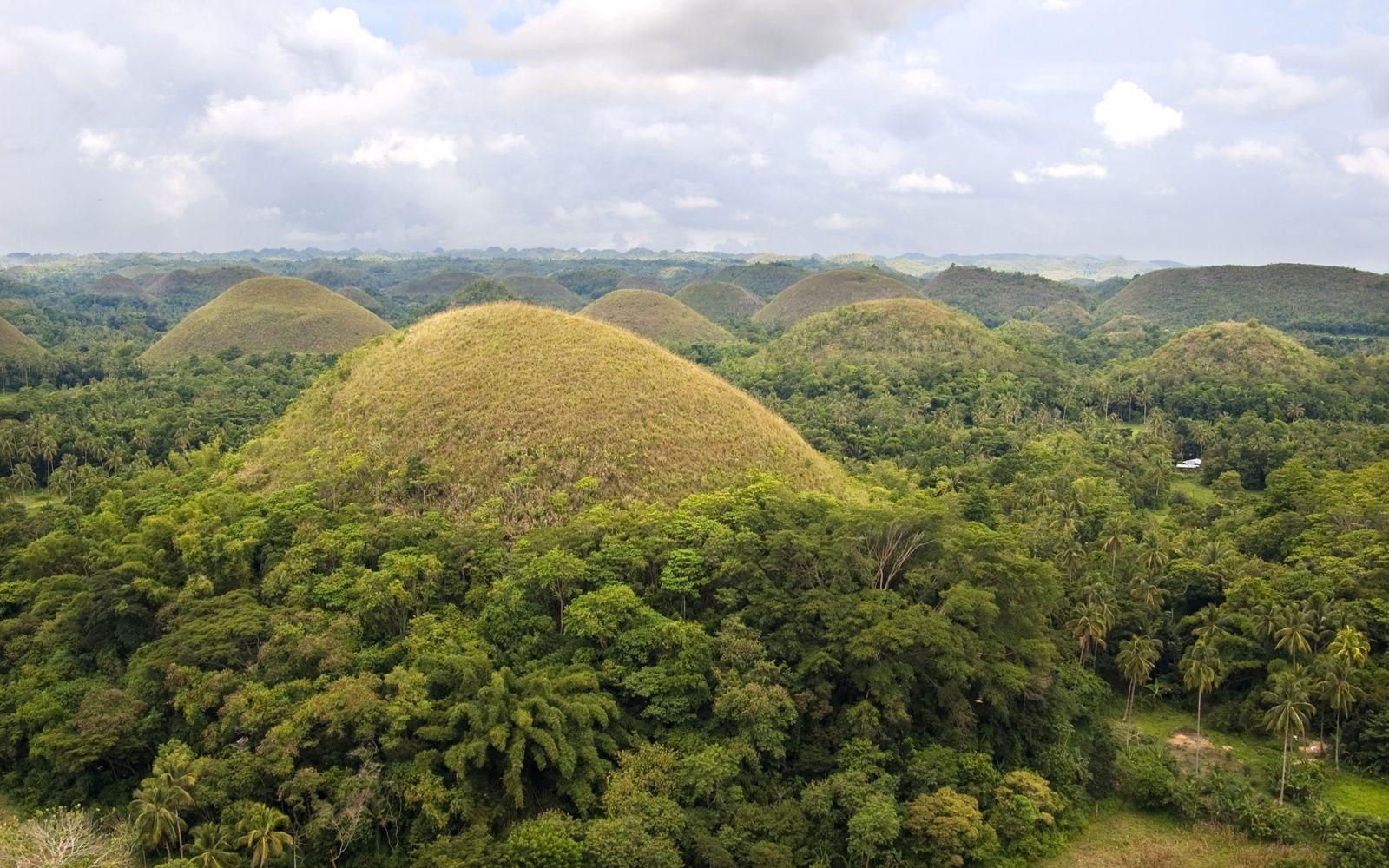 Chocolate Hills, Philippines - World's Strangest Natural Wonders | Travel + Leisure