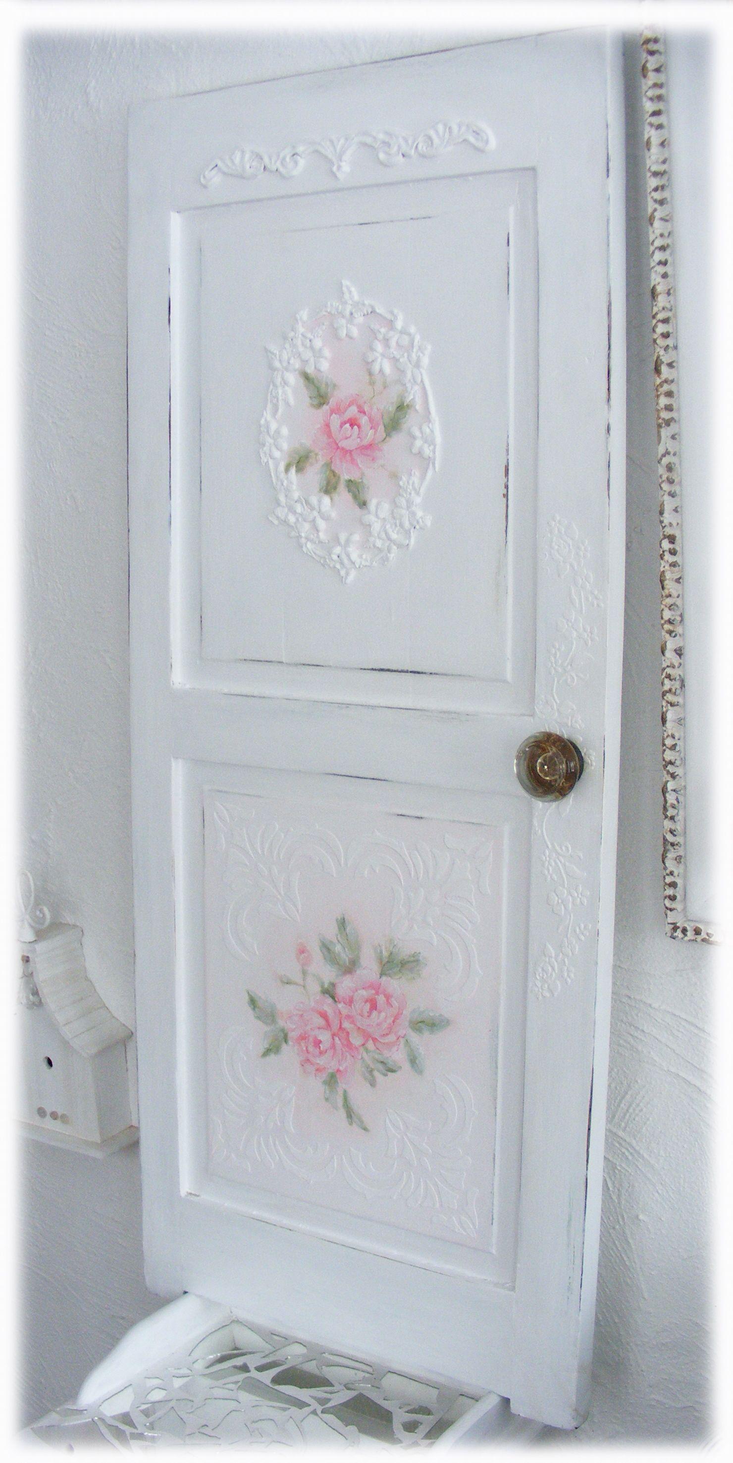 Rococo shabby door french painting yalrococo lori