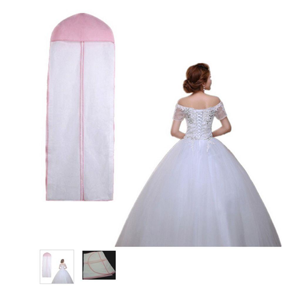 Length 155 Cheap Wedding Dress Bags Clothes Cover Dust Cover Garment ...