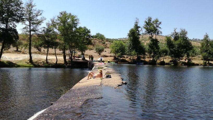 Praia Fluvial de Miradeses perto de Mirandela e Valpaços