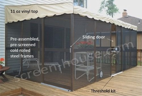 Patio Mate Screen Room By Kay Home