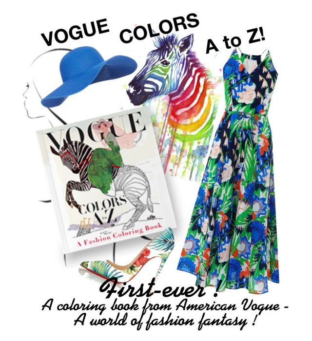 VOGUE COLORS A To Z Win The Fashion Coloring Book By Teez