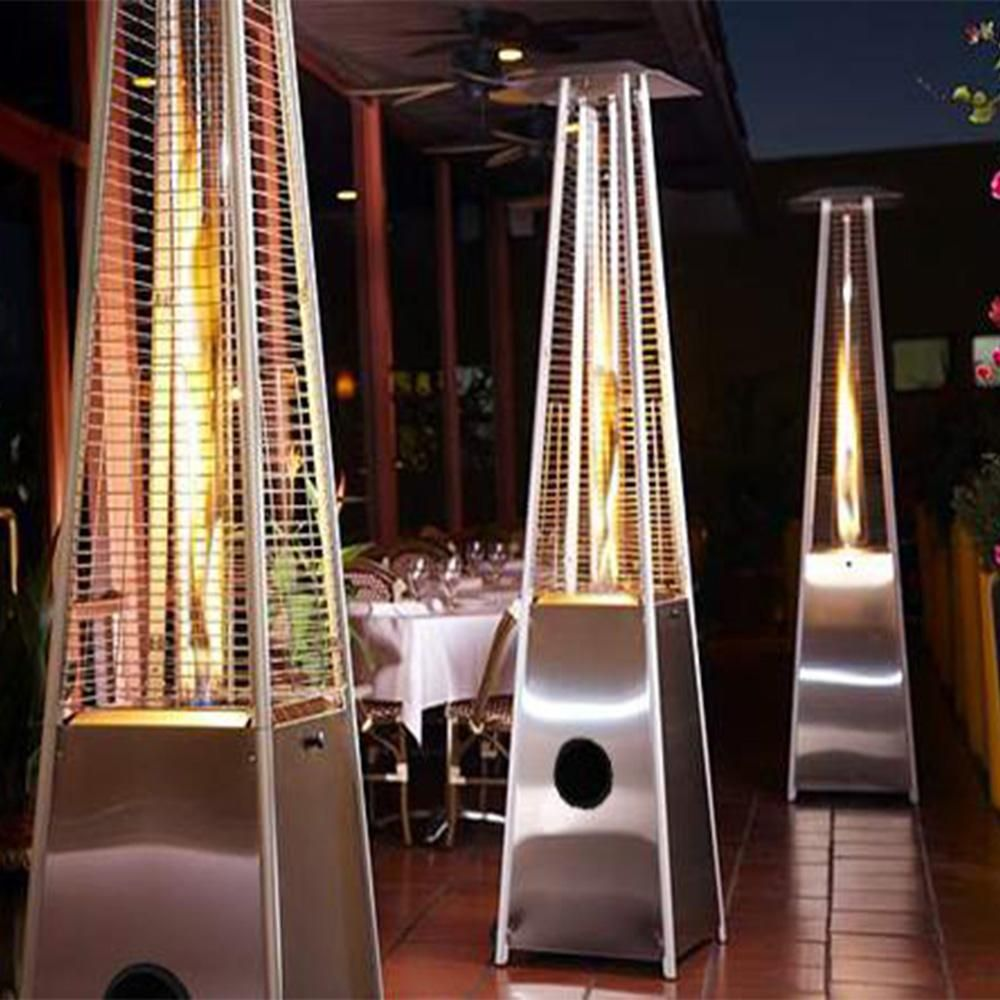 91 Tall Radiant Heat Gl Outdoor Patio Heater Fcphlds01 Gtss This Is For A Single Quartz Stainless Steel High Grade