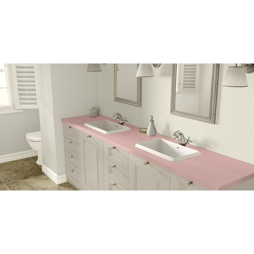 Attrayant Laminate Countertop Sample In Retro Renovation First Lady Pink With  Standard Matte Finish MC 2X3VLY040460   The Home Depot