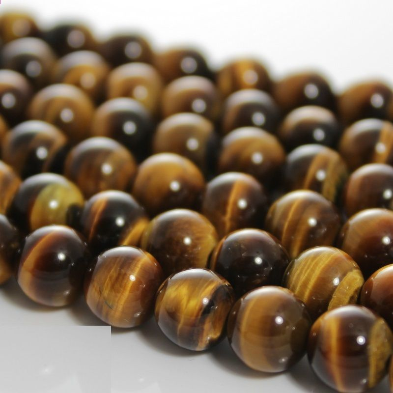 Baihande Naturale Giallo Tiger Eye Beads 6 8 10 12 14mm