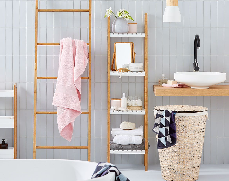 Bathoroom - Kmart  Kmart bathroom, Bathroom styling, Restroom decor