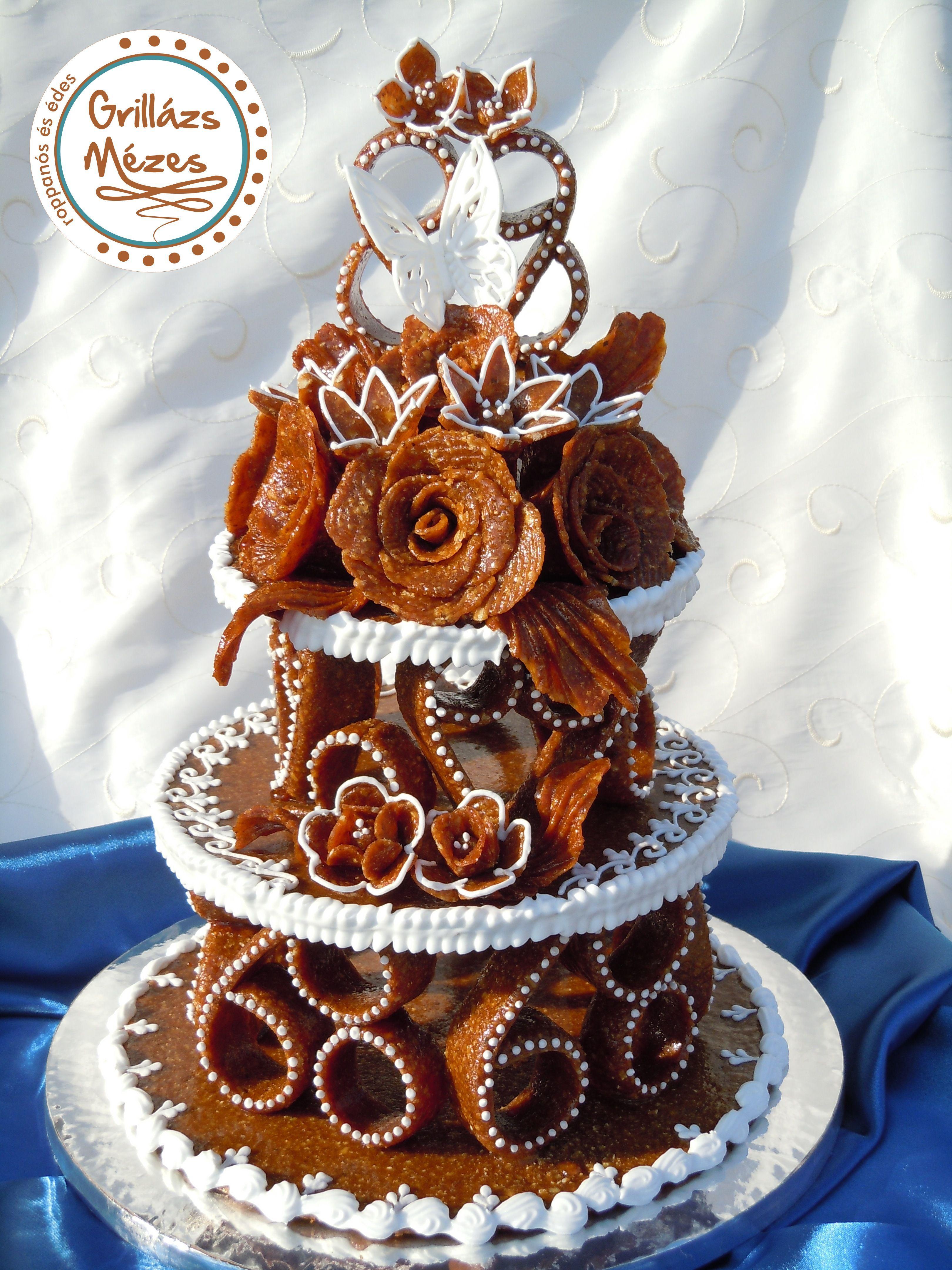pillangós torta képek Pillangós, emeletes torta | Grillázstorták esküvőre | Pinterest  pillangós torta képek