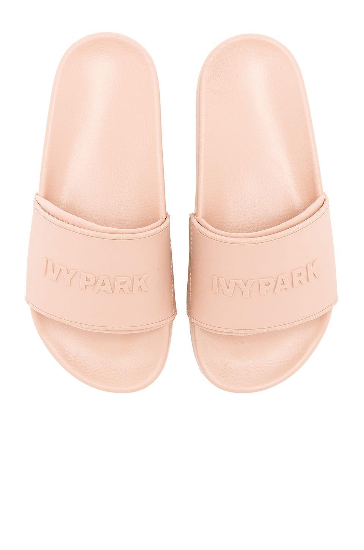 28c3e169d IVY PARK Logo Slides in Dusty Pink | REVOLVE | N U D E in 2019 | Ivy ...