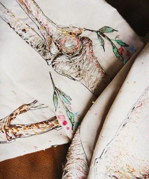 Thread, Fashion and Costume: Nastya Klimova & Liza Smirnova