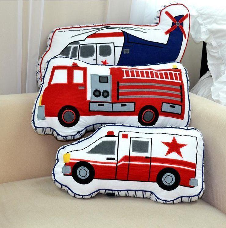 Fire Truck Pillowcase Gift For Boy Kid