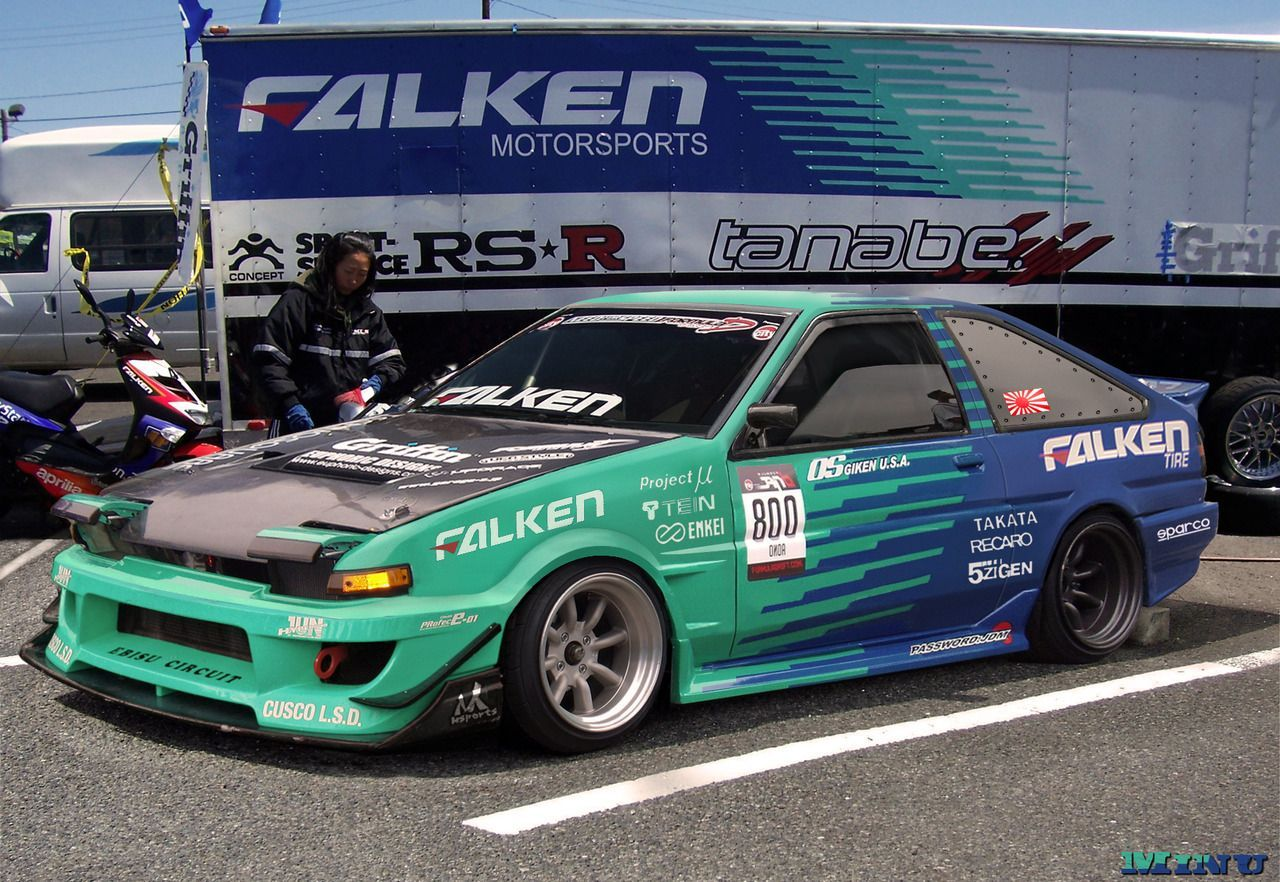 Image result for falken ae86 Falken tires, Falken, Japan