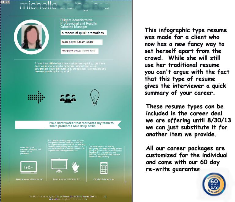 Imfographic resumes tell your story visually | Resume Samples ...