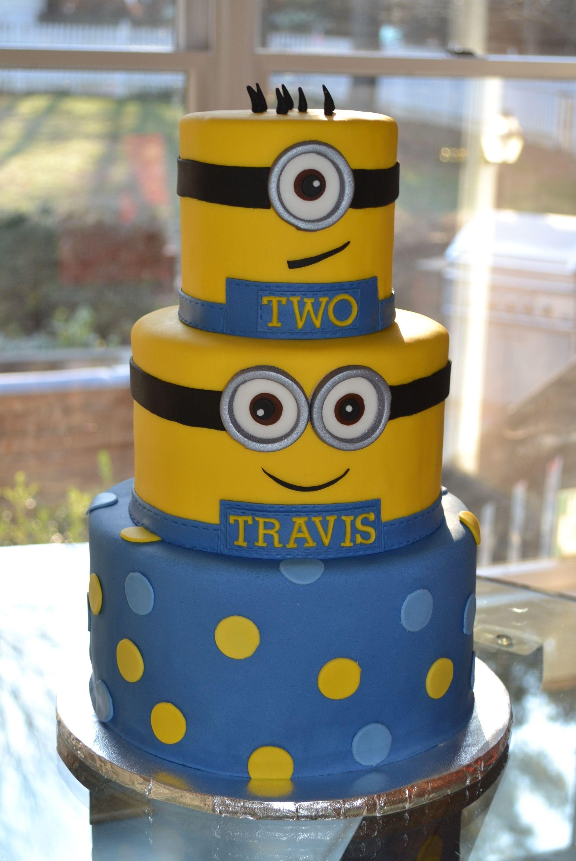 Miraculous Minion Cake Iii Minion Cake Minion Birthday Cake Cake Funny Birthday Cards Online Overcheapnameinfo