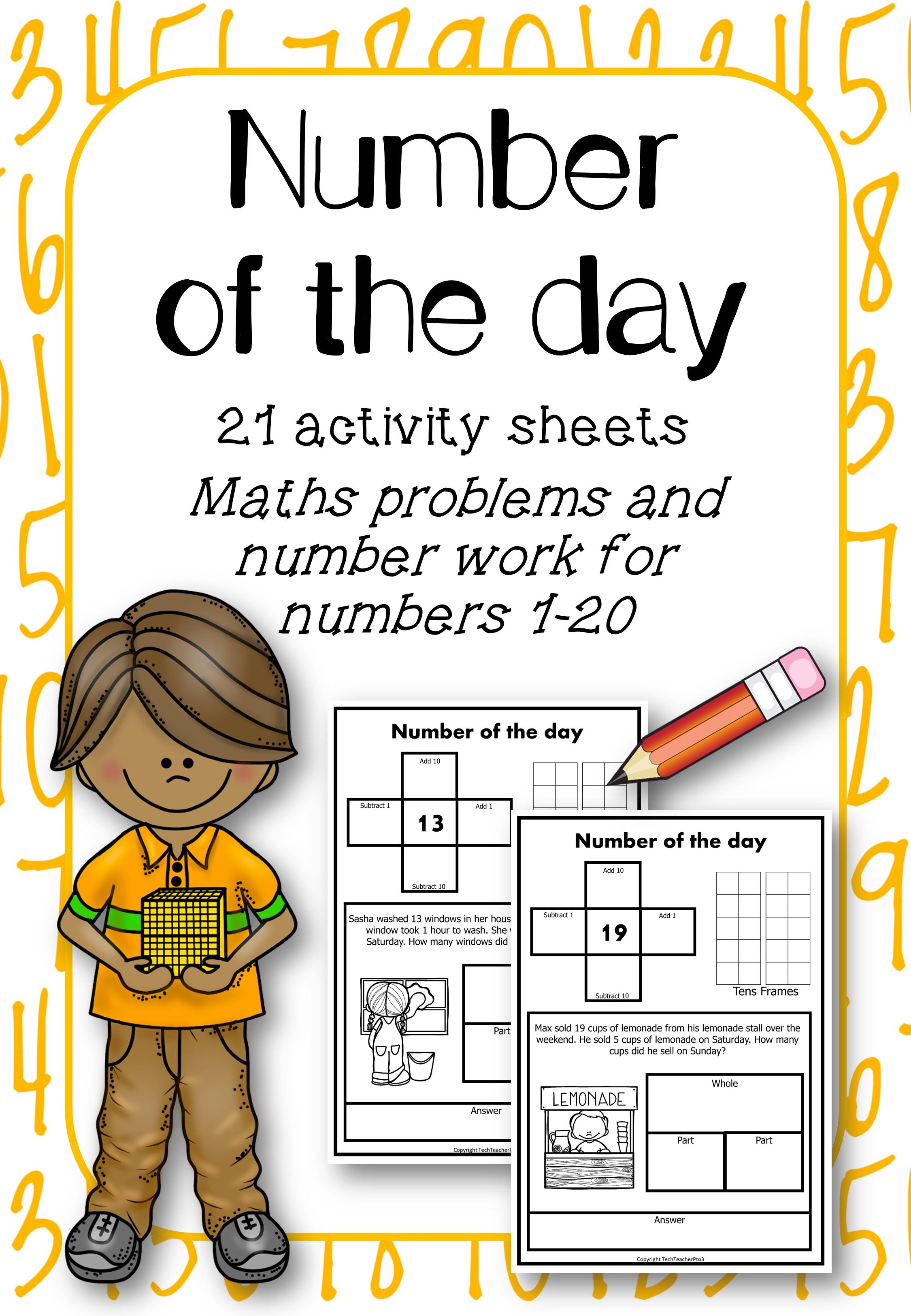 Math Problem Solving Number Of The Day