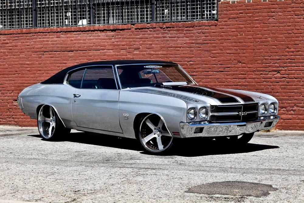 American Muscle Cars Custom Chevrolet Chevelle Ss Bad Azz
