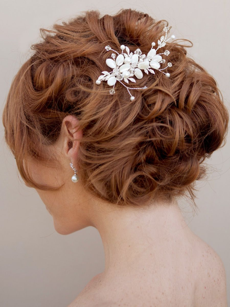 pin by tina bao on hairs | hair comb wedding, wedding hair
