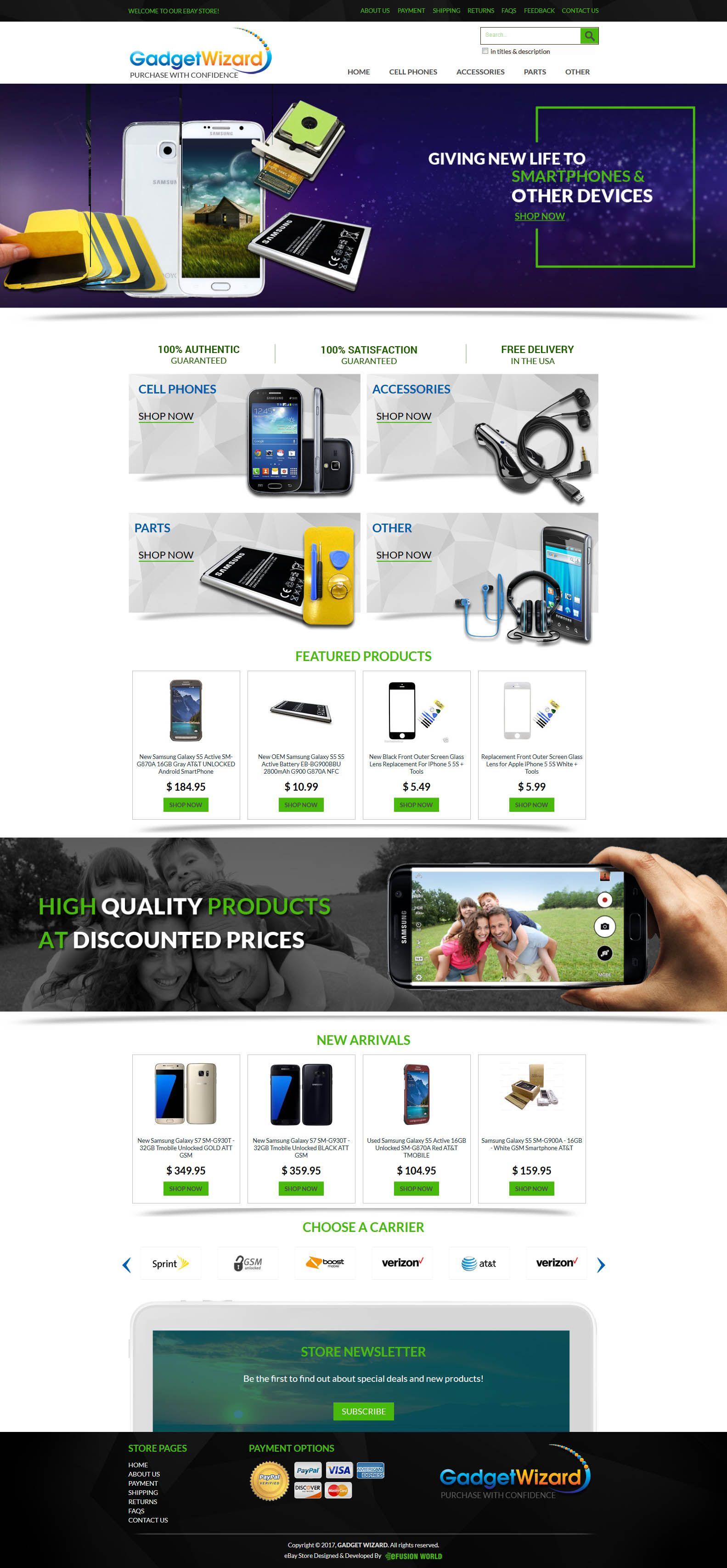 b4a88b014c  eFusionWorld s create stunning  eBay  Templates  design that optimized for  fast loading