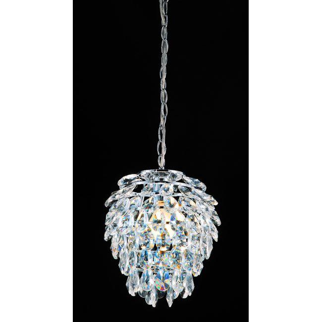 Pineapple 1 light chrome mini chandelier lighting pinterest pineapple 1 light chrome mini chandelier aloadofball Gallery