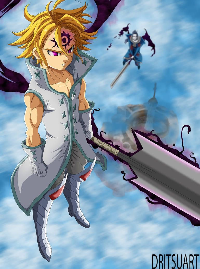 Cursed Meliodas X Reader 3 Someone New Seven Deadly Sins Anime Seven Deadly Sins Seven Deady Sins