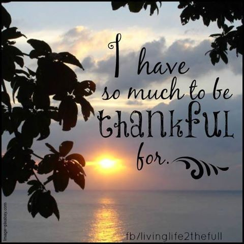I Have So Much To Be Thankful For Grateful quotes