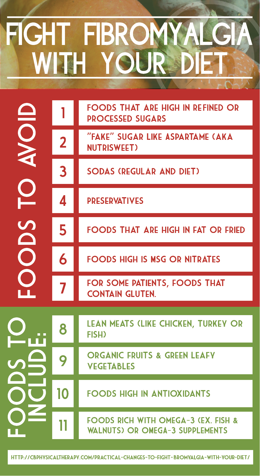 what is a fibromyagia diet