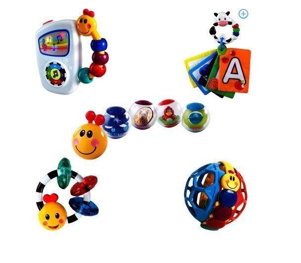 25ffd27c81ad Baby Einstein Toys 9 Piece Essentials Bundle Tunes