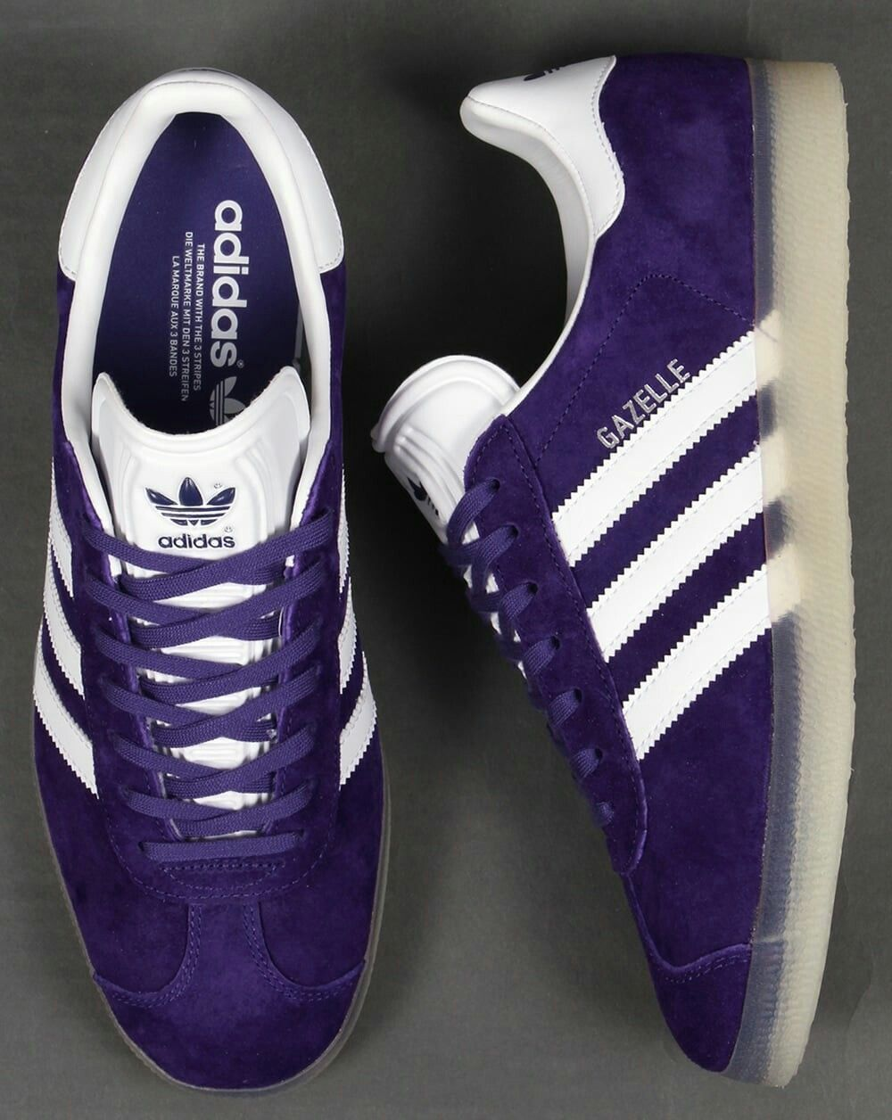 hot sale online 42996 4954c Gazelle PurpleWhiteIced Gum one of the popular releases of 2016 Clothing,