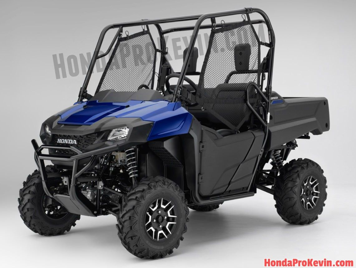 Honda Pioneer 700 4 Top Speed >> 2017 Honda Pioneer 700 Review / Specs & Changes | Top Speed Performance Info, Prices ...