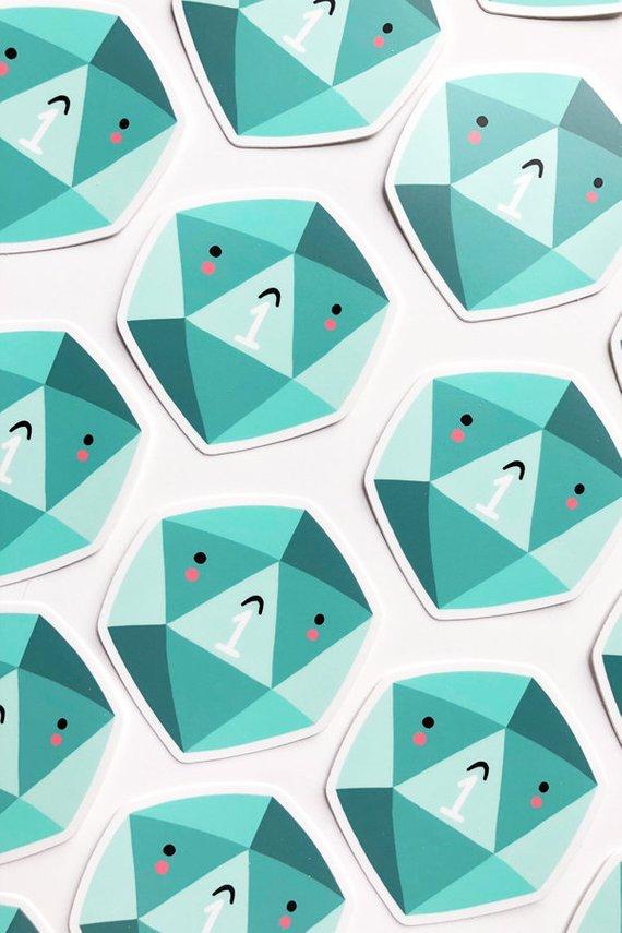 Critical Fail Sticker Etsy In 2020 Vinyl Sticker Stickers Etsy