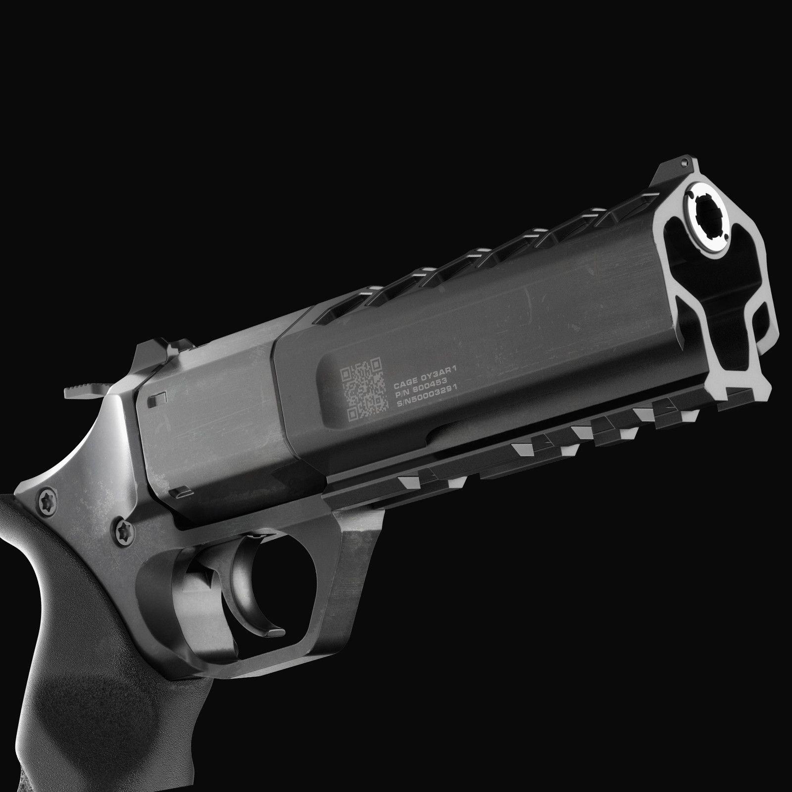 KARA 21 Revolver Concept, Alex Khaliman | Snowtiger on ArtStation at https://www.artstation.com/artwork/0Z5NG
