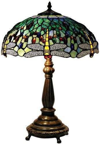 Yellow Dragonfly Tiffany Style Table Lamp Amazon Com Tiffany Style Table Lamps Tiffany Style Table Lamp