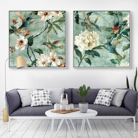 Pas cher Nordique Belle fleurs et plantes art Toile décor affiche