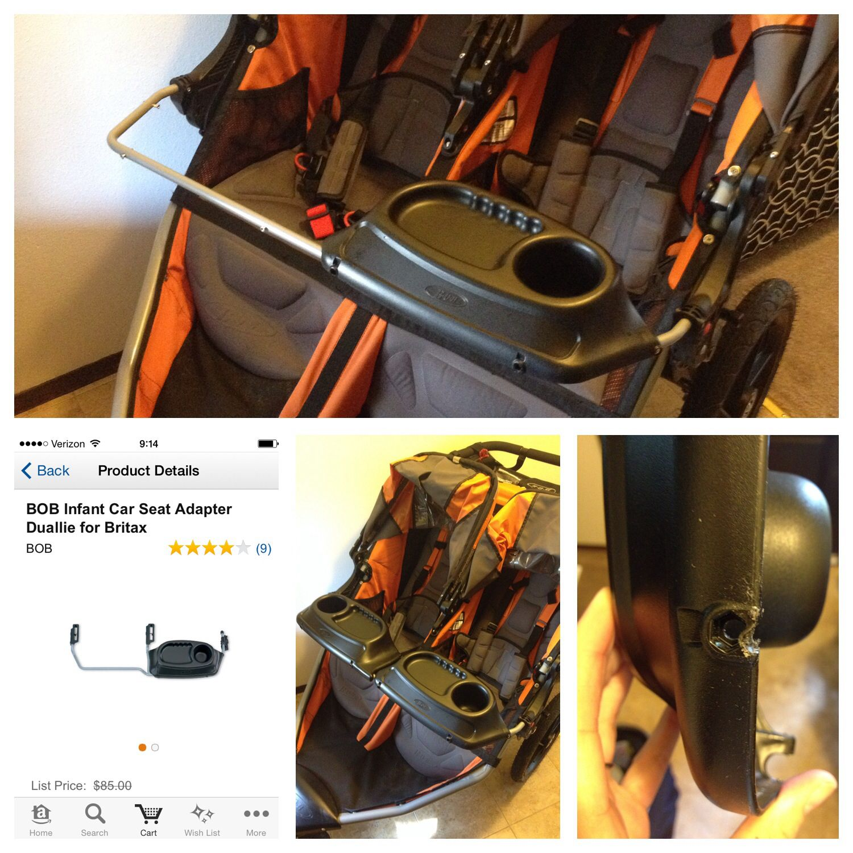 43+ Bob stroller double car seat adapter ideas