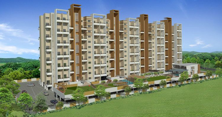 Aura by bhandari associates residential apartments new