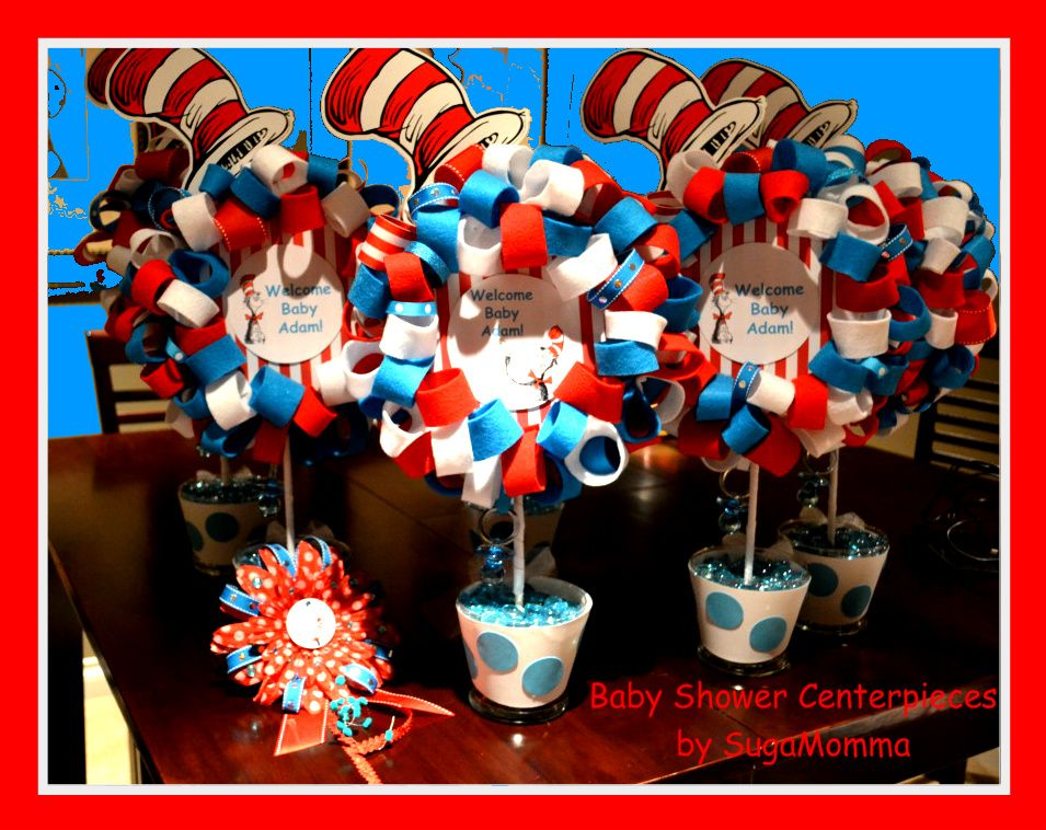 Exceptional Dr Suess Baby Shower Decoration Ideas | ... For Images Baby Shower  Centerpieces Post 8 Image Caption Dr Seuss Baby | Projects To Try |  Pinterest | Dr Suess ...