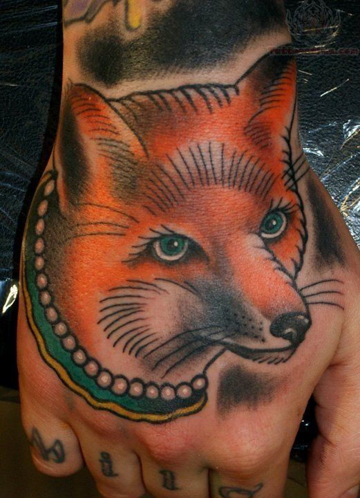 Traditional Fox Head Tattoo | www.pixshark.com - Images ...