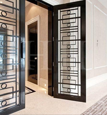 Door Detail Interior Design Portfolio Window Grill Design House Redesign