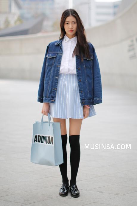 Official Korean Fashion Blog Asian Street Style Pinterest Tenue Femme Jeunesse Et Tenues