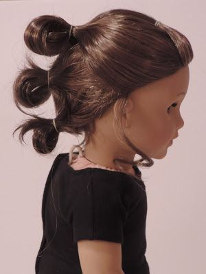 The By Kids For Kids Blog Star Wars Rey Hairstyle American Girl Hairstyles American Girl Doll Hairstyles Toddler Hairstyles Girl