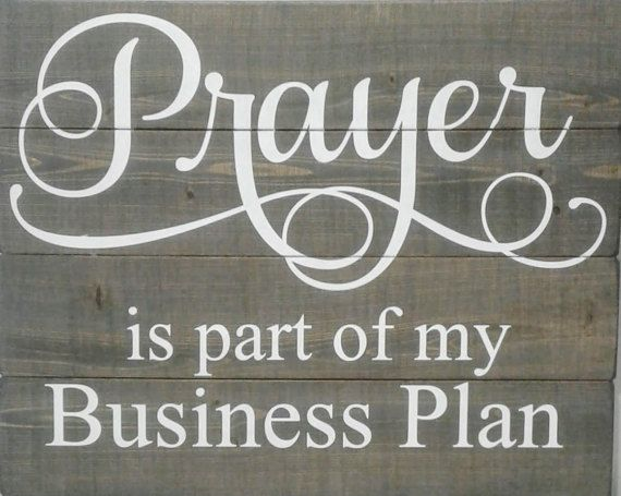 Inspirational wood signs prayer sign by winfreyhomedesigns for Inspirational signs for office