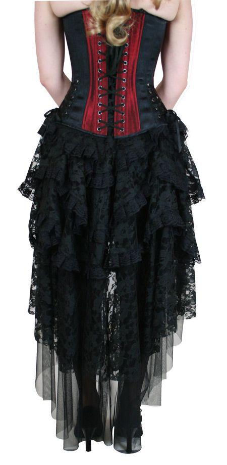 cf4f6b0f5b2 Steampunk Ladies Black Solid