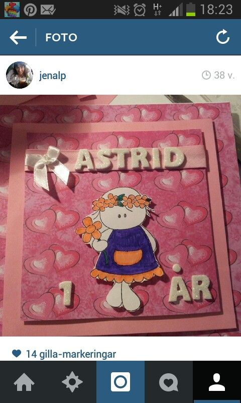 födelsedagskort e kort Beställning födelsedagskort till Astrid 1 år | Kort till kalas mm  födelsedagskort e kort