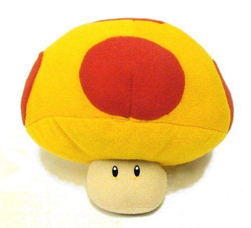 Super Mario Brothers 6 Mega Mushroom Plush By Banpresto Http