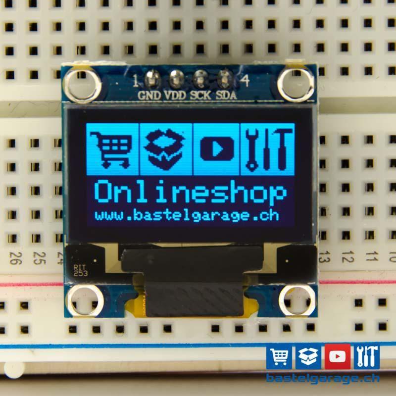 Oled Display Blau I2c 128x64 0 96 Electronic Circuit Projects Arduino Display Display