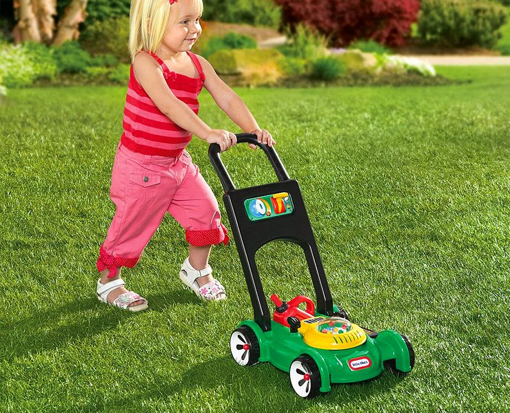 Little Tikes Lawn Mower Toy Review