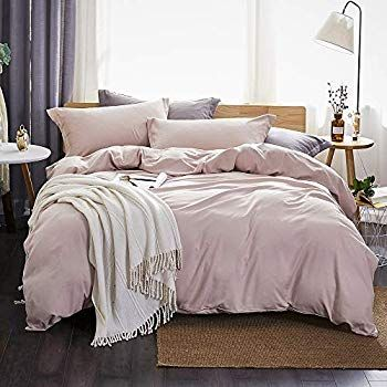 Photo of Dreaming Wapiti Duvet Cover Queen,100% Washed Microfiber 3pcs Bedding Duvet Cover Set