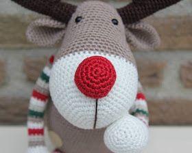 Кукляндия: Северный олень Ральф | Вязаные крючком шапки ...