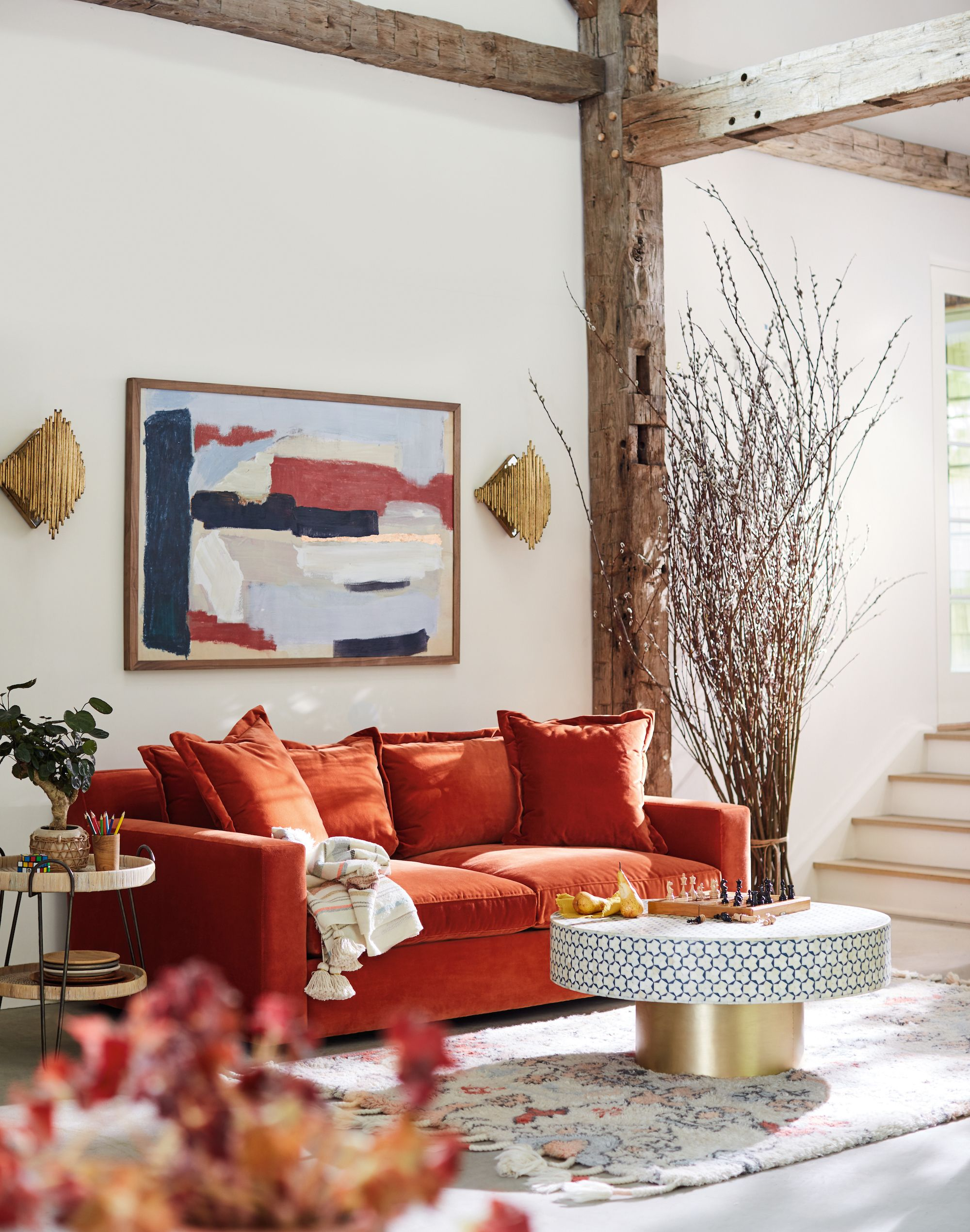 katina two cushion sofa anthropologie living room furniture home rh pinterest com